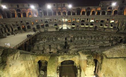 Le Colisée et ses secrets – Visite guidée après les heures d'ouverture