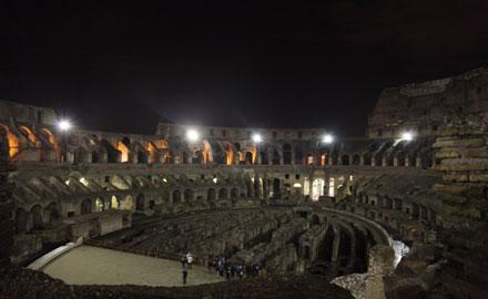 Guide français – Colisée de Rome sous les étoiles