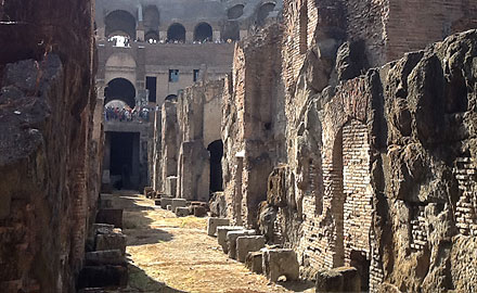 Visite privée au Colisée - Les Donjons du Colisée