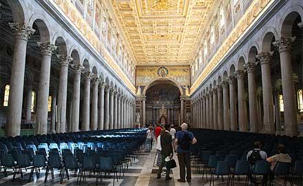 Tours de pèlerins à Rome