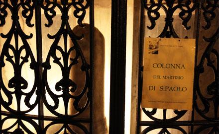 Visite guidée Rome - Sur les traces de Saint Paul (images : Alfredo Ndoj, IWU)