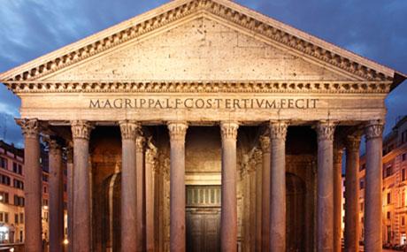 Visiter Rome de Nuit – Le Panthéon