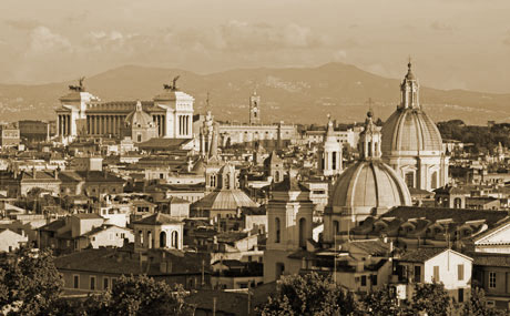 Panorama de Rome