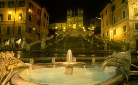 Visites nocturnes à Rome –  Rome en français