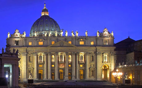 Rome de nuit – Basilique Saint Pierre