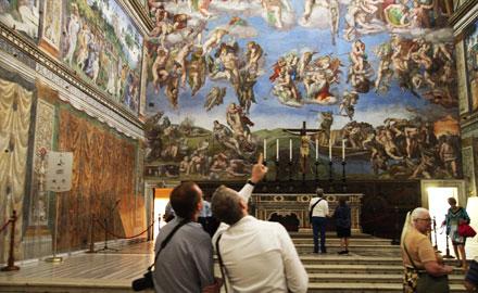 La visite privée originale du Vatican à 8:00