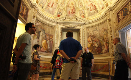 Excursions très privées au Vatican