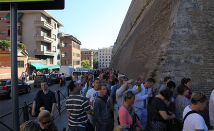 Coupe file Chapelle Sixtine - Évitez les files d'attente avec l'excursion originale de bonne heure au Vatican d'IWU