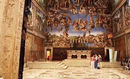Visite privée Vatican - Visiter la Chapelle Sixtine en Dehors des Heures d'Ouverture avec IWU