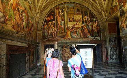Visites très privées du Vatican - Aux Chambres de Raphaël en Dehors des Heures d'Ouverture avec IWU