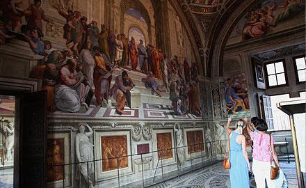 Les secrets du Vatican en français - Chambres de Raphaël Après les Heures d'Ouverture avec Italy Whith Us