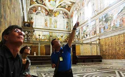 Excursions au Vatican - Visiter la Chapelle Sixtine en exclusivité après les heures d'ouverture